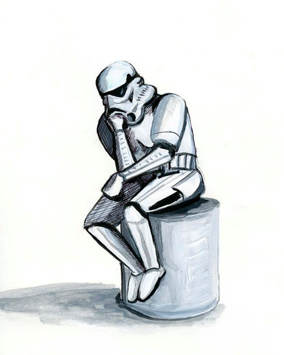 The Thinker-Stormtrooper