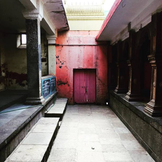Kiran Joshi Guruji's Ganpati Temple Solapur- Pink Door