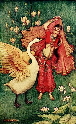 damayanthi-and-the-golden-swan