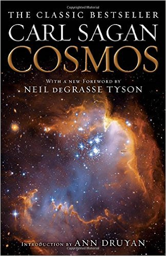 COSMOS- Carl Sagan Book Cover