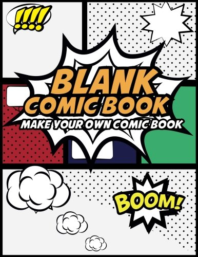 Blank Comic Book Cover
